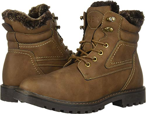 GBX Men's Lorcan Ankle Boot, Dark Brown, 11 M US
