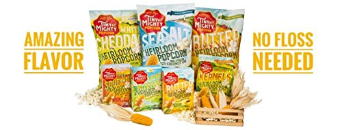 Tiny But Mighty Butter Heirloom Popcorn, for the Microwave, Pack of 3