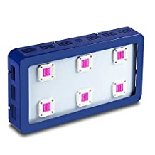 King X6 1800W COB LED Grow Light Module Design Full Spectrum for Greenhouse and Indoor Plant Flowering Growing (Blue, X6 1800W)
