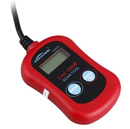 Etbotu KW805 Mini OBD2 Code Reader Vehicle Fault Diagnosis Instrument Tester Tool for All 12V Gasoline Cars by Etbotu (Image #2)