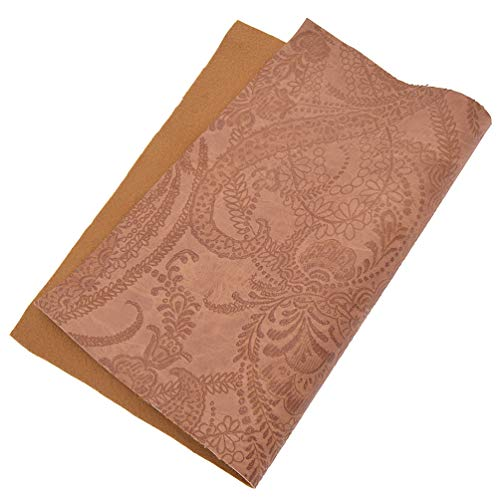 (Lychee A4 PU Embossed Fabric Faux Leather Glitter Texture Fabric)