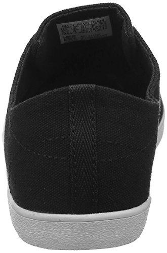 adidas CLOUDFOAM QT VULC W - Zapatillas deportivas para Mujer, Negro - (NEGBAS/NEGBAS/GRPUDG) 39 1/3