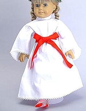 New AMERICAN GIRL~KIRSTEN St Lucia Red /& White Striped Christmas SOCKS~Free Ship