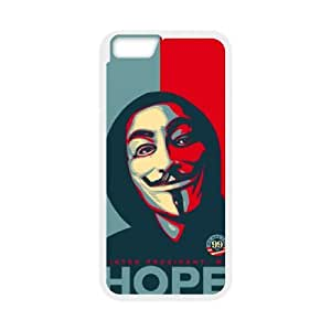 """XOXOX V for Vendetta 2 Phone Case For iPhone 6 (4.7"""") [Pattern-2]"""