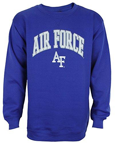 College Embroidered Crew Fleece Sweatshirt - 2