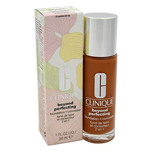 Clinique Beyond Perfecting Foundation + Concealer # 24 Golden (D-G), 1 Ounce