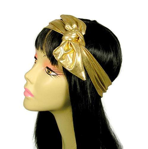 Gold Lame Hair Scarves Gatsby Head Wraps 20s Headbands Gold Head Wraps Metallic Gold Headscarves Neckscarves