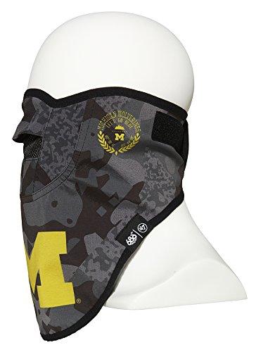 NCAA Michigan Wolverines Union Face Mask, One Size, - Michigan Mask