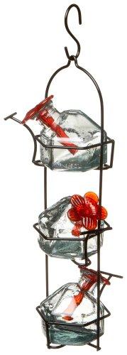 Lunchpail 3 Hummingbird Feeder Clear -