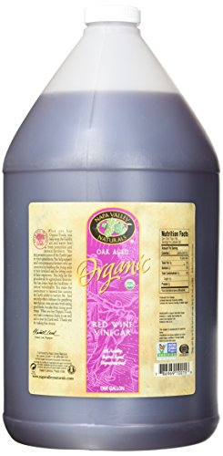 Napa Valley Naturals Organic Red Wine Vinegar, 128 Ounce