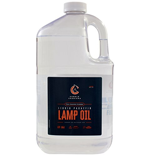 Lamp Lamps Oil (4x1 Paraffin Lamp Oil Fuel 1 Gallon Bottles Bulk (4 Pack) Pure Clear Odorless Smokeless Clean Burning Unscented Made in USA)