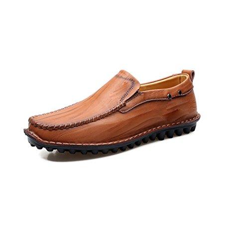Bovins Printemps Chaussures Ceinture Business Automne Cool Redbrown Hiver Femme zmlsc Été Et Hommes Décontractées 5fqzIP