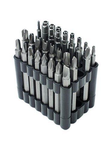Mannesmann - M29732 - Juego de puntas de destornillador, 32 piezas, con puntas especiales