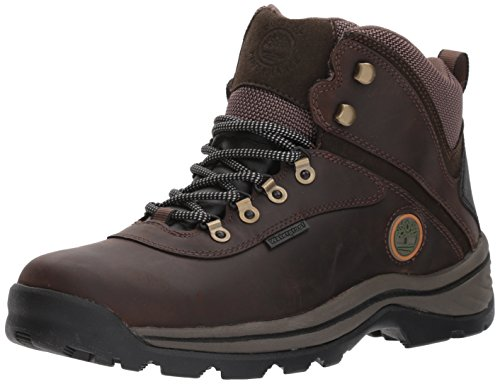 Timberland 12135 Men's White Ledge Mid WP Boot Dark Brown 10