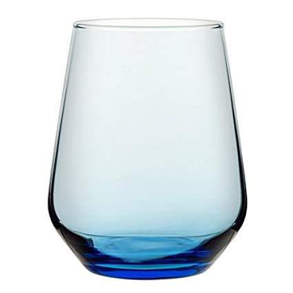 Utopía p41536-blue00-b06024Allegra agua, 15,5oz (44cl), color azul (Pack de 24)