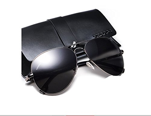 Ash De Conducción Macho Gafas Sapo Mirror Gafas De Pistola Gafas Ash Sol Frame De De Silver NHDZ Hombre Polarizador Conductor Sol Bastidor Del xpz1CwWvq