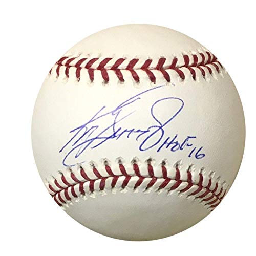 Autographed Ken Griffey Jr. Baseball - Hall of Fame HOF 16 + UV Case - Tristar Productions Certified