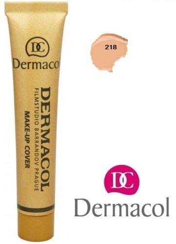 Dermacol Camouflage Make-up (Makeup Grundierung, zum Abdecken von Tattoos und Narben), 218