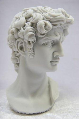 Nude Bust of David Michelangelo 6.5
