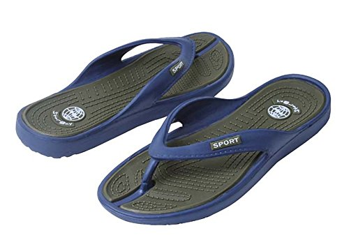 New Mens Casual / Beach Flip Flop Sandals Available In 4 Colors Green Z01YLt1Qy