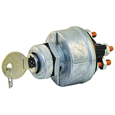 Tectran 19-1060 Ignition & Starter Switch, Position 4, Base 1, Mounting Style 2, Starter Lockout N: Automotive