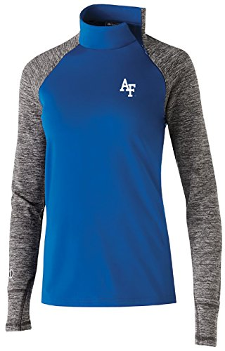 Ouray Sportswear NCAA Air Force Falcons Women's Affirm Pullover Jacket, Large, Royal/Carbon ()