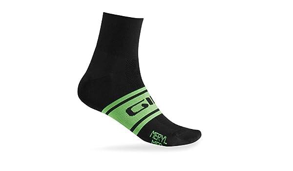 Calcetines de ciclismo Giro 2015 Classic Racer Blanco-negro: Amazon.es: Deportes y aire libre