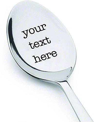Customized Spoon - Custom Spoon - Personalized Spoons - Custom Engraved Spoon - Personalized Serving Spoon - Personalized Engraving Spoon - Personalized Coffee Spoon - Personalized Spoon - For Her (Nutella Spoon)