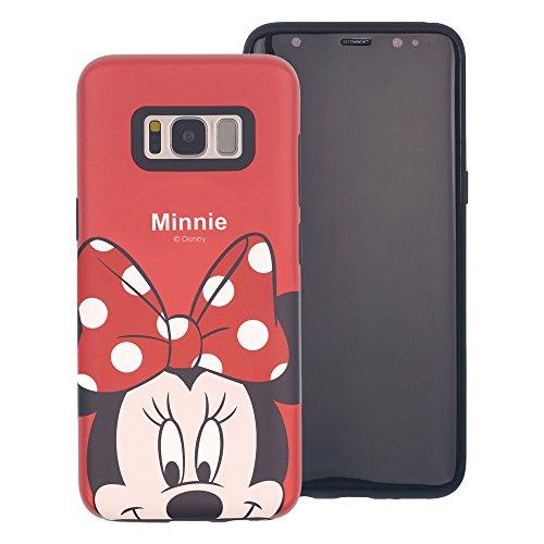Funda Galaxy S8 Plus [Protección híbrida contra caídas] DISNEY Minnie Mouse Linda Doble Capa Hybrid Carcasas [TPU + PC] Parachoques Cubierta para [ Samsung Galaxy S8 Plus ] - Minnie Mouse Idea Minnie Mouse Look Down (Galaxy S8 Plus)