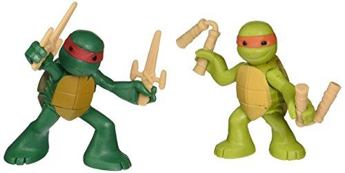 Teenage Mutant Ninja Turtles, Ninjas in Training Michaelangelo and Raphael Action Figures (Tmnt Toys 2013)