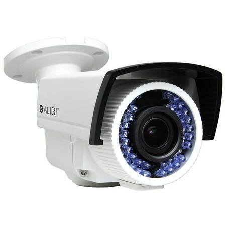 Alibi 1.3 Megapixel 720p HD-TVI 130′ IR Varifocal Outdoor Bullet Security Camera For Sale