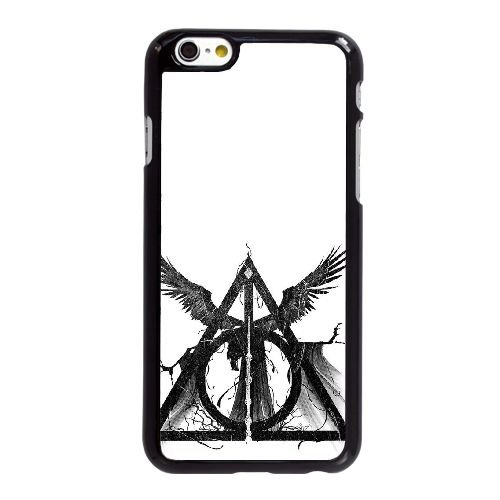 Deathly Hallows Three Brothers iPhone 6 6S 4,7-Zoll-Handy-Fall hülle schwarz J2L4ARSMYD