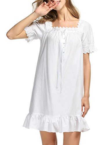 Naggoo Romantic Princess Nightgown Nightdress