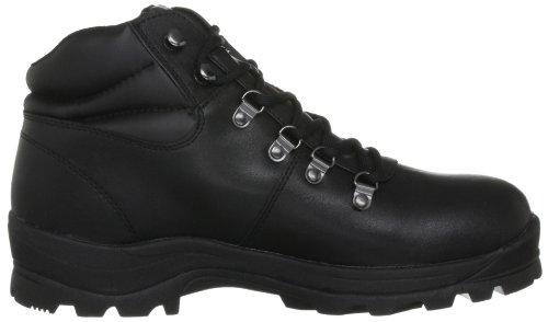 Trespass - Zapatillas de senderismo para hombre Negro