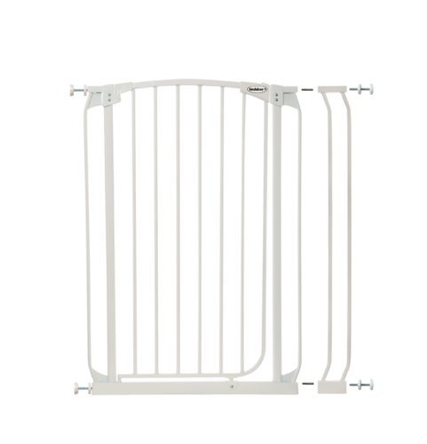 Bindaboo Swing Closed Security Gate, Extra Tall, White ()