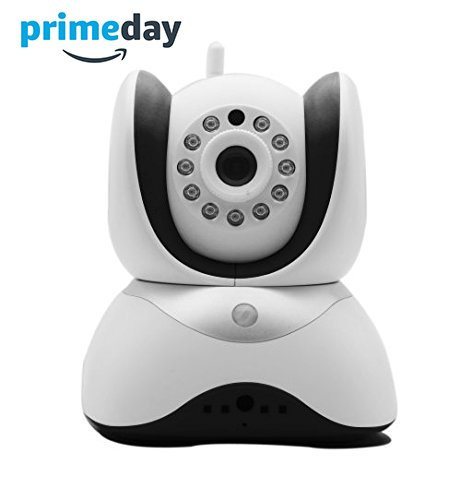 The Best Baby Monitor HD Video Wifi Surveillance Camera 2 Way Audio, Infrared Night Vision! Security Smart Cam for children, Pet, Nanny, puppy - - Baby Registry Must Have