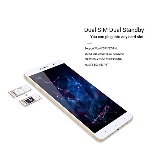 Android-70-Unlocked-Cell-Phones4G-LTE-GSMWCDMA-Fingerprint-Octa-Core-Smartphone-65Full-HD-Touch-Screen-Display-5MP13MP-Dual-Camera-3GB32GB-BluetoothGPSFMWifi-SupportediRULU-G36