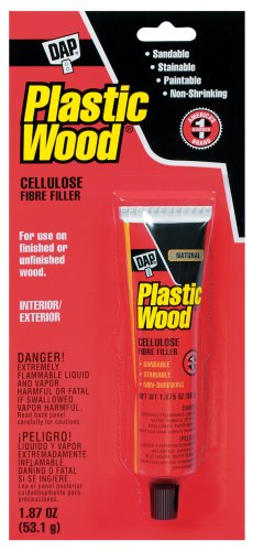 Dap 21500 Plastic Wood Slvnt NAT 1.87 Oz Raw Building Material, Natural