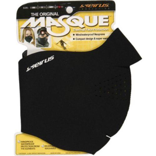 - The Masque Thermal Face Protection , Color: Black, Size: Lg 6805.0.0014