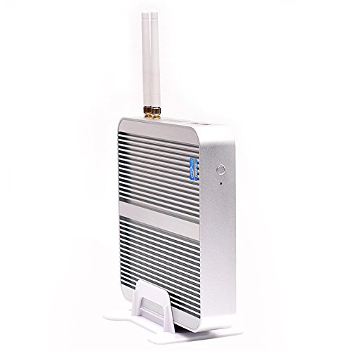 Kingdel Fanless Mini Computer, HTPC with Intel i5 5th Gen. CPU, 8GB RAM, 128GB SSD, 4xUSB 3.0, HDMI, WiFi, Metal Case, Windows 10 Pro by KINGDEL (Image #4)