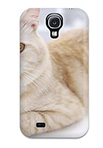 Cat S Felines Animal Cat Case Compatible With Galaxy S4/ Hot Protection Case