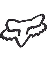 Fox mens Fox Head Thermal Die Cut Sticker 18 Inch Key Chain