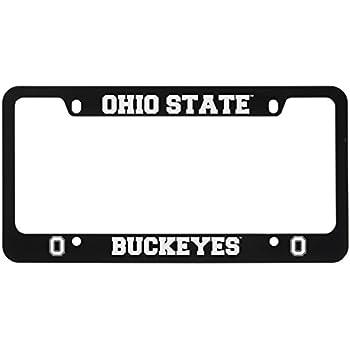Amazon.com : NCAA Ohio State Buckeyes License Plate Frame : Sports ...