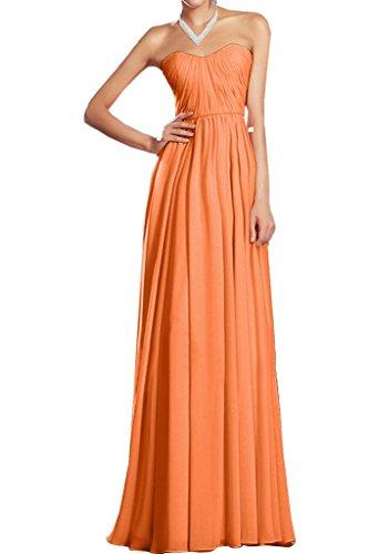Missdressy -  Vestito  - plissettato - Donna Orange 44