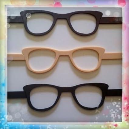 6 gafas de goma eva ideal para fofuchas o cualquier muñeca (Para bolas de 6