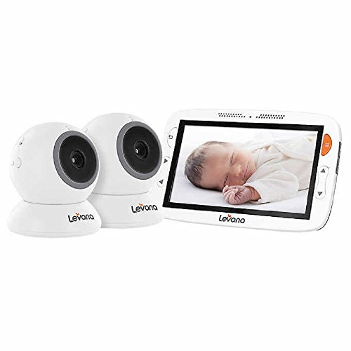 "Levana Amara 7"" Touchscreen with 2 Fixed Cameras with 12 Hou"
