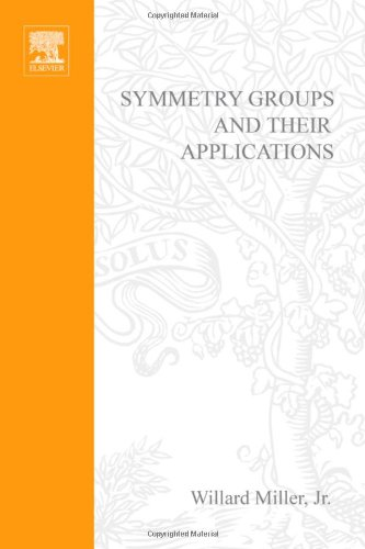 Symmetry groups and their applications, Volume 50 (Pure and Applied Mathematics)