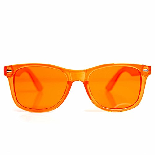 GloFX Orange Color Therapy Glasses Chakra Glasses Relax - Orange Lenses Glasses