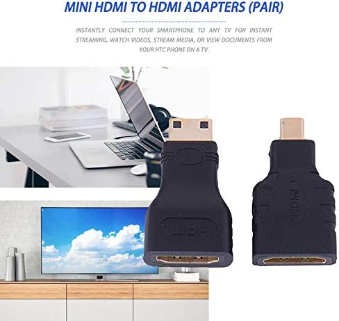Video Cables and connectors,HDMI for Micro HDMI HDMI to Mini Gold Plated Converter HD Connector Extension Adapter for Video TV for Xbox 360 HDTV 1080P