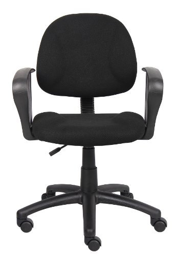 Boss fice Products B317 BK Perfect Posture Delux Fabric